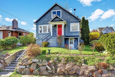 Seattle Single Family Home For Sale: 7711 30th Ave NW