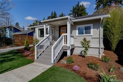 Kirkland Single Family Home For Sale: 346 10th Ave