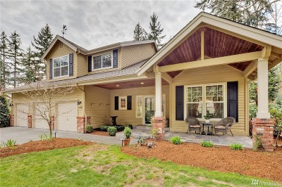 Bothell Single Family Home For Sale: 9020 NE 186th Place