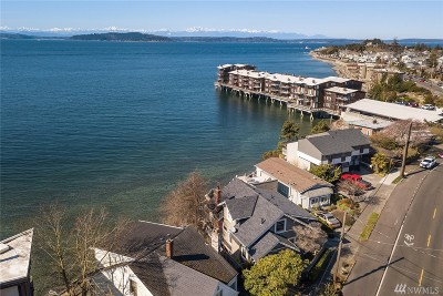 Seattle Single Family Home For Sale: 3811 Beach Dr SW
