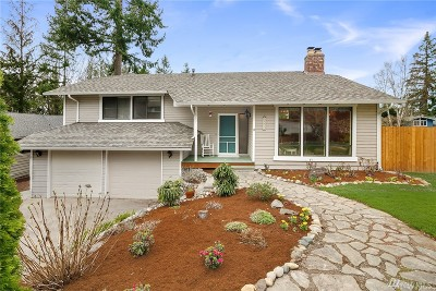 King County Single Family Home For Sale: 15416 SE 46th Place