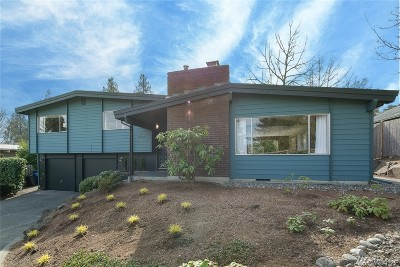 Seattle Single Family Home For Sale: 12721 19th Ave NE
