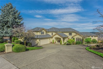 Puyallup Single Family Home Contingent: 4226 Crystal Lane Lp SE