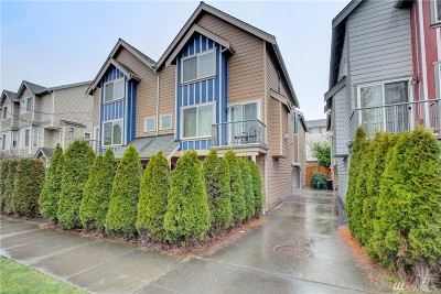 Seattle Single Family Home For Sale: 9243 Ashworth Ave N #B