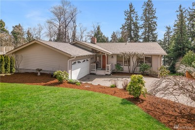 Kirkland Single Family Home For Sale: 11506 84th Ave NE