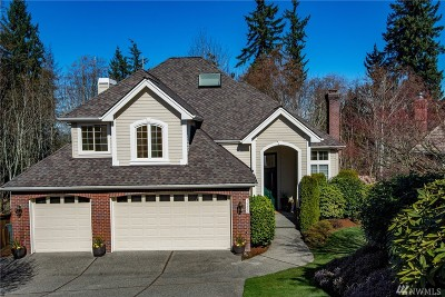 Bellevue Single Family Home For Sale: 16880 SE 56th Place