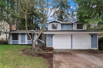 Olympia Single Family Home For Sale: 2815 Langridge Lp NW