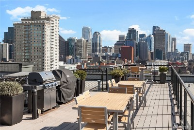 Seattle Condo/Townhouse Sold: 2721 1st Ave #303