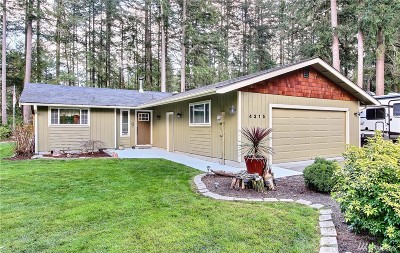 Gig Harbor Single Family Home For Sale: 4315 83rd Ave NW