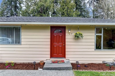 Edmonds Single Family Home For Sale: 7819 200th St SW