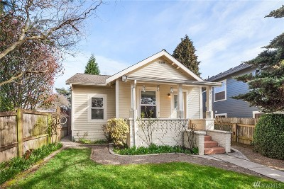Seattle Single Family Home For Sale: 348 N 84th St