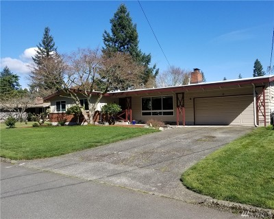 Bellevue Single Family Home For Sale: 2636 153rd Ave SE