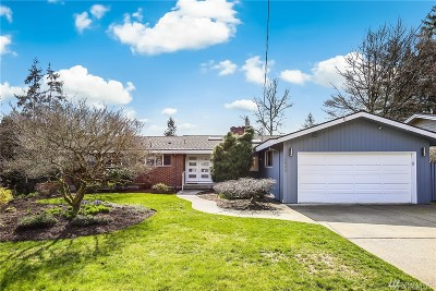 Bellevue Single Family Home For Sale: 16543 SE 28th St