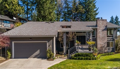 Bellevue Single Family Home For Sale: 18414 NE 15th Place