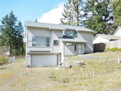 Port Ludlow WA Single Family Home For Sale: $225,000