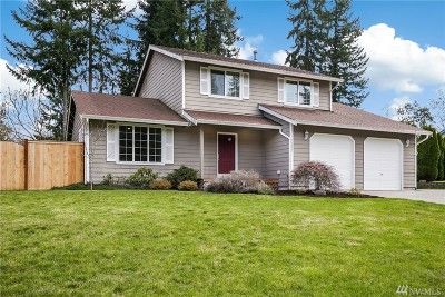 Gig Harbor Single Family Home Contingent: 13621 13th Ave NW