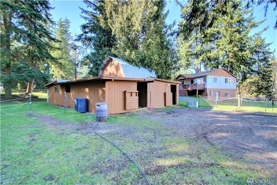 Stanwood Single Family Home For Sale: 16109 62nd Ave NW