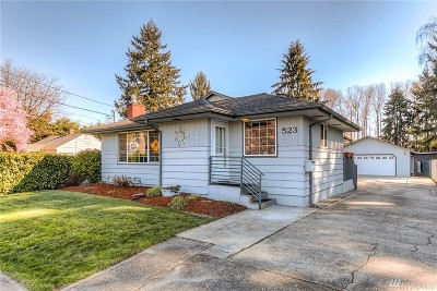 Puyallup Single Family Home For Sale: 523 5th St NE