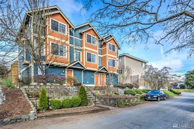 Seattle Single Family Home For Sale: 14053 Lenora Place N