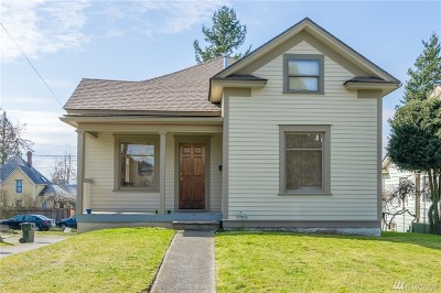 Bellingham WA Single Family Home For Sale: $485,000