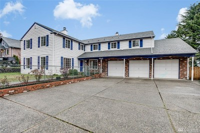Seattle Single Family Home For Sale: 8246 S 116th St