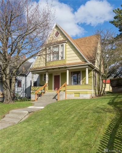 Bellingham Single Family Home For Sale: 1460 Humboldt St