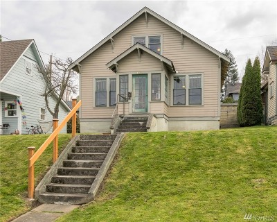 Bellingham WA Single Family Home For Sale: $465,000