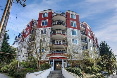 Seattle Condo/Townhouse Sold: 232 Belmont Ave E #503