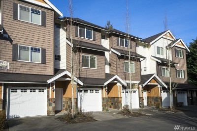 Kenmore Condo/Townhouse For Sale: 17817 80th Ave NE #B4