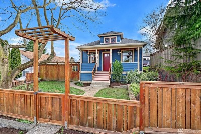 Seattle Single Family Home For Sale: 339 N 80th St