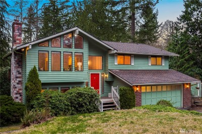 Woodinville Single Family Home For Sale: 21820 NE 164th St
