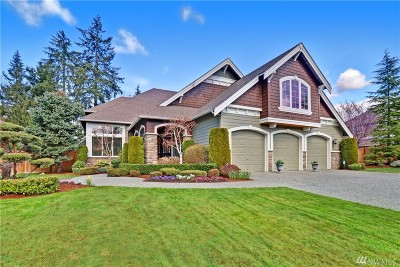 Woodinville Single Family Home For Sale: 13701 233rd St SE