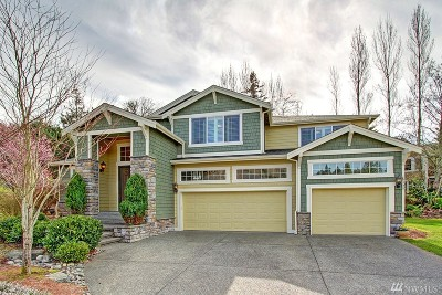 Bellevue Single Family Home For Sale: 15927 SE Cougar Mountain Way
