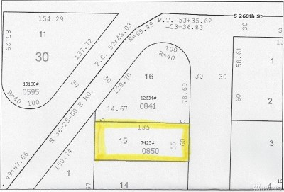 King County Residential Lots & Land For Sale: S 268th St