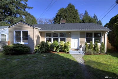 Seattle Single Family Home For Sale: 11714 9th Ave NE