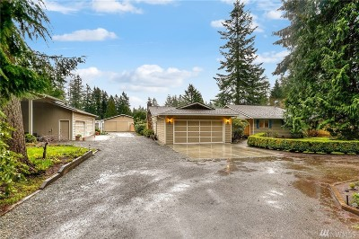 Woodinville Single Family Home For Sale: 22609 102nd Ave SE