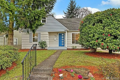 Seattle Single Family Home For Sale: 7459 S 116th St