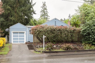 Seattle Single Family Home For Sale: 1809 N 145th St