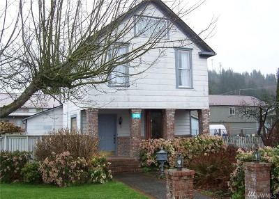 Burlington Single Family Home Pending Inspection: 305 E Hazel Ave