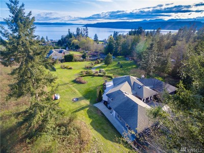 Port Ludlow Single Family Home Contingent: 166 Madrona Vista Place