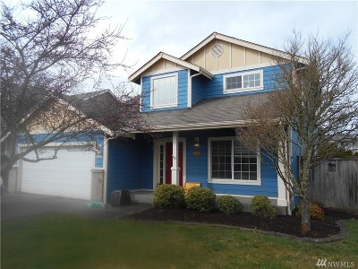 Spanaway Single Family Home For Sale: 8403 203rd St Ct E