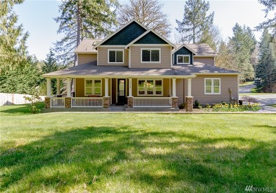 Gig Harbor Single Family Home For Sale: 5220 Huckleberry Lane NW