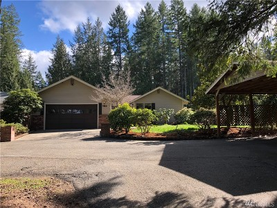 Shelton WA Single Family Home Sold: $267,900