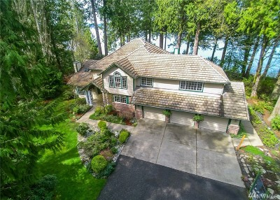 Thurston County Single Family Home For Sale: 9321 Steamboat Island Rd NW