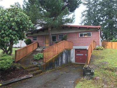 Olympia Single Family Home For Sale: 1321 Warner St NE