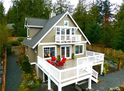 Anacortes, La Conner Single Family Home For Sale: 7884 Evergreen Lane