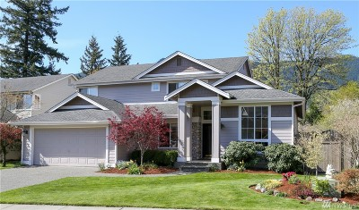 North Bend WA Single Family Home For Sale: $692,000