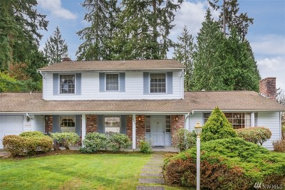 Bellevue Single Family Home For Sale: 14419 NE 11th Place