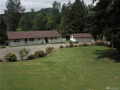 Enumclaw Single Family Home For Sale: 47936 288th Ave SE