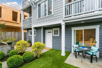 Seattle Single Family Home For Sale: 1537 NW 65th St